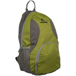 Outshiny Back Padding,Zip Closure Backpack
