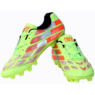 CW Messi Green Firefly Football Shoes (5)
