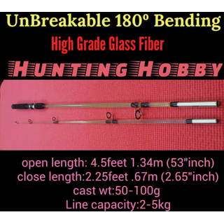 fishing rod (4.5feet unbreakable series): buy fishing rod (4.5feet, Reel Combo