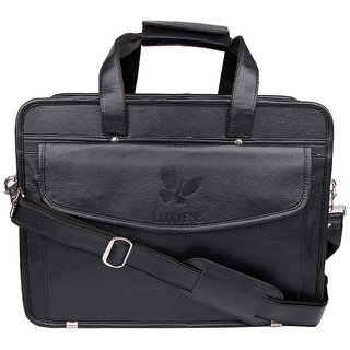 Lutyens Unisex Black Laptop Bags