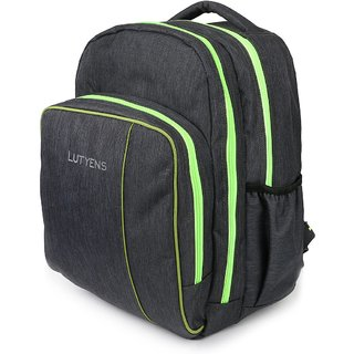 Lutyens Multicolor Zip Closure,Back Padding  Backpack