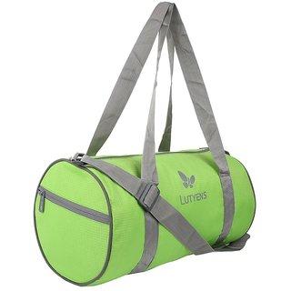Lutyens Polyester 20 Litres Green Gym Bag