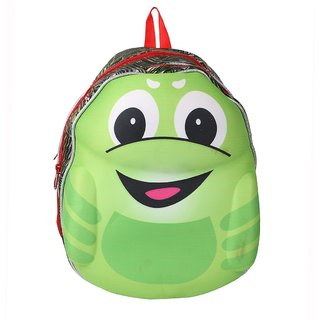 Lutyens Unisex Green Red School Bag
