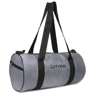Lutyens Polyester Grey Gym Bags (19 Liters) (Lutyens_190)