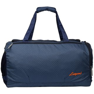 Lutyens Blue Travel Duffel Bag / Gym Bag