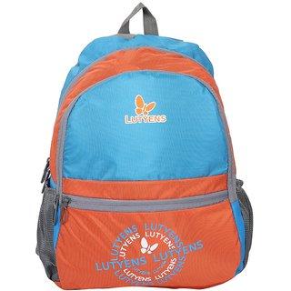 Lutyens Blue Orange School Bags (Lutyens_117)