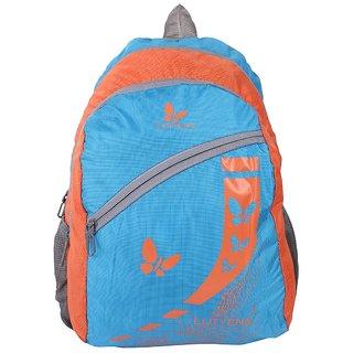 Lutyens Polyester 20Litres Blue School Bag