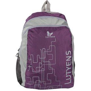 Lutyens Purple Grey School Bags (Lutyens_132)