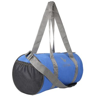 Lutyens Polyester 20 Litres Blue Gym Bag