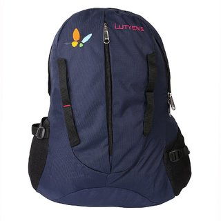 Lutyens Unisex Blue School Bag