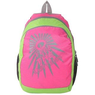 Lutyens Pink Green School Bags (Lutyens_155)