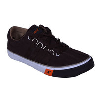 Sparx Men's Black Lace Up Casual Shoes