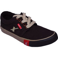 Sparx Men's Black Lace-up Casual Shoes