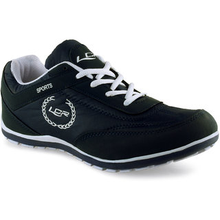 lancer s black and white lace up casual shoes buy