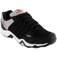 Lancer Men's Black & Red Lace-up Running Shoes