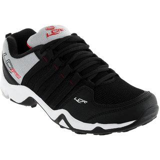 Lancer Mens Black & Red Running Shoes