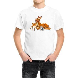 Snoby Cute deers print t-shirt