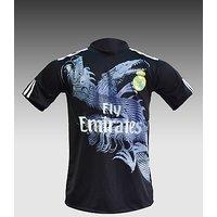 New realmardri black football Jersey with shorts
