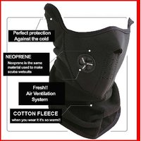 Neoprene -  Anti Pollution / Anti Dust Biker Mask