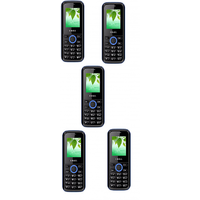 Combo Of 5 , K18 I Kall Dual Sim Multimedia Mobile Phone With FM Bluetooth