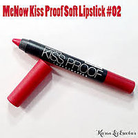 MENOW KISS PROOF CRAYON LIPSTICK SHADE 02 WATER PROOF