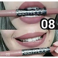 MENOW KISS PROOF CRAYON LIPSTICK SHADE 08 WATER PROOF
