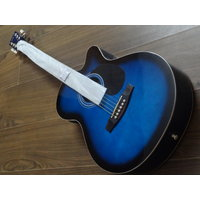 JIMM Acoustic Guitar - Blue Imported Guitar