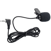 Mini Collar Microphone With Clip for Chatting, Voice  Video Call - Laptop PC Camcoder DSLR Camera