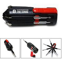 8 in 1 tool kit Screwdriver set with torch