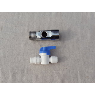 Water Inlet Valve/Connector,DV Set For RO/UV/Water Filter Purifier 1/4 Pipe
