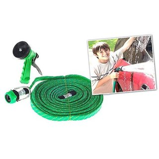 10 Meter Water Spray Gun For Home Bike Car Cleaning Gardening Plant Tree Watering Wash - Multifunction Garden Hose