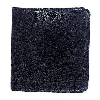 Black Men A4 Casual Formal Card Holder Fancy Genuine Leather Wallet