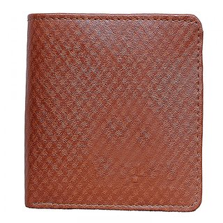 Men A9 WL Fency Real Pure Luxuries Genuine Leather Royal Brown card Wallet