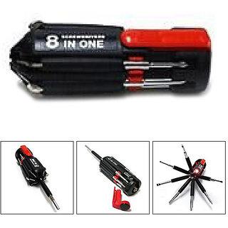 Muyltipurpose screwdriver set 8 in Tool kit