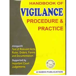 Handbook of VIGILANCE - Procedure  Practice
