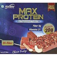 RiteBite Max Protein  - Pack of 6 (Choco Fudge Bar)