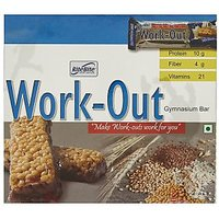 RiteBite Work Out Protein Bar - Pack of 6