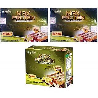 RiteBite Max Protein Bar, 18 Piece(s)/Pack Honey Lemon