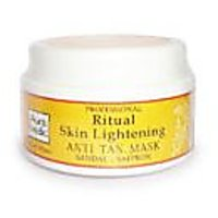 Skin Care Lightening Mask With Sandalwood, Turmeric And Saffron@PS