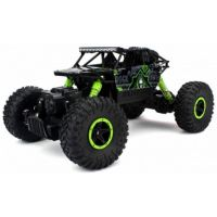 The Flyer's Bay ROCK CRAWLER 118 Scale 4WD RALLY CAR - The Mean Machine (Green)