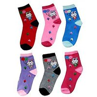 Set of 3 Soft Cotton Socks For Kids (1 to 3 yrs)