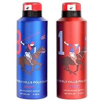 Beverly Hills Polo Club Deodorant Combo For Men - Sport (Eight + One)