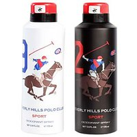 Beverly Hills Polo Club Deodorant Combo For Men - Sport (Nine + Two)