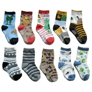 Set of 3 Kids Cotton Socks (3 to 7 yrs)