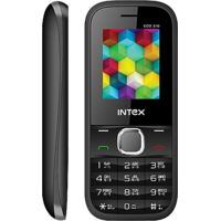 Intex Eco 210 Dual SIM Feature Phone (Black)