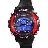 Letest LCD Multi function Digital Alarm Boy Kids Girl Sports Wrist Watch
