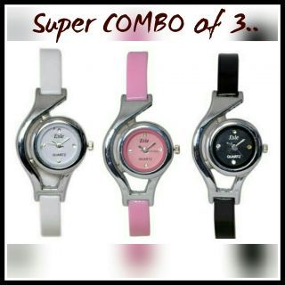 3 PIECES COMBO WATCHES for womens