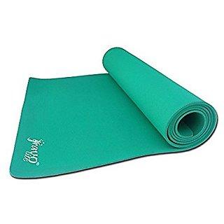 Gravolite Plain Yoga Mat, 36 x 72 x 8-inch (Green)