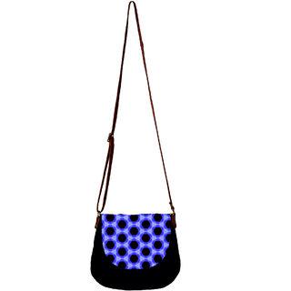 Barisa Epic Multicolor Canvas Cloth Casual Sling Bag - BESBR170