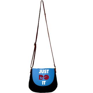 Barisa Epic Multicolor Canvas Cloth Casual Sling Bag - BESBR176